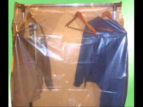 Clear Clothing Garment Rack Cover   YouTube