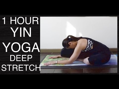 1 Hour Yin Yoga Class - Total Body Deep Stretch for Flexibility and Relaxation