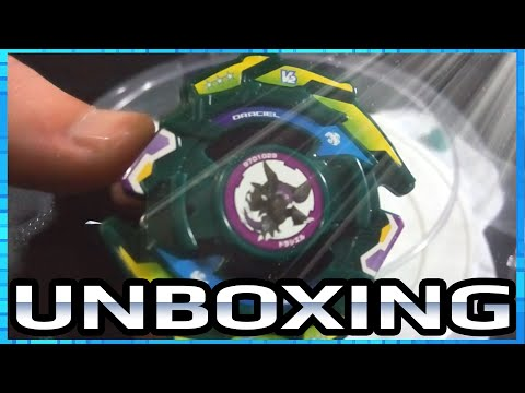 Unboxing Beyblade!! A-85 Draciel V2