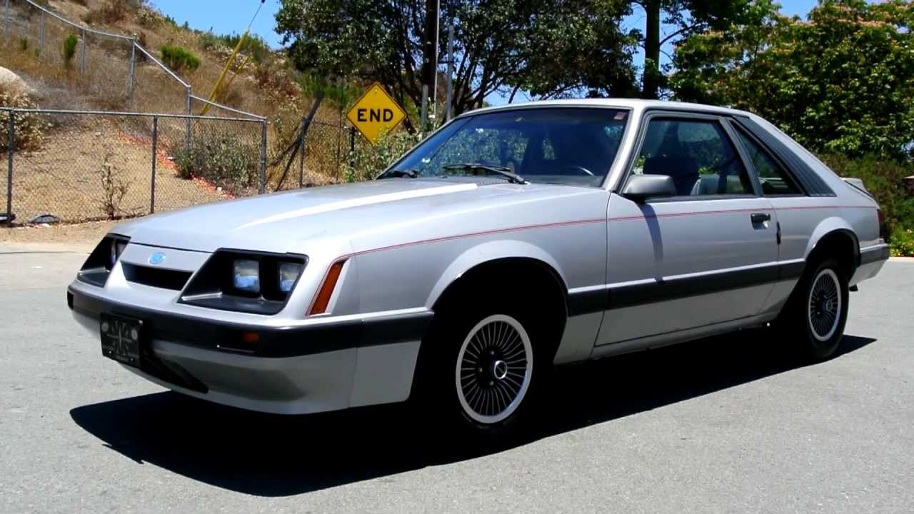 1986 ford mustang lx non gt fastback v6 2 owner low miles hatchback youngtmer youtube
