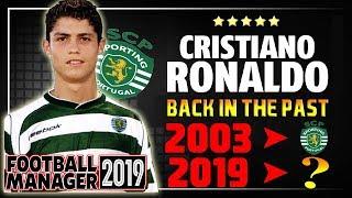 FM19 EXPÉRIENCE - CRISTIANO RONALDO - Football manager 19 fr