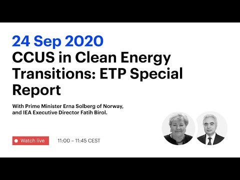 CCUS in Clean Energy Transitions: ETP Special Report