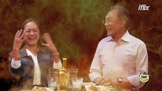 Datuk Seri Anwar Ibrahim faces the heat on Hot Ones Malaysia | Teaser  | Watch Free on iflix