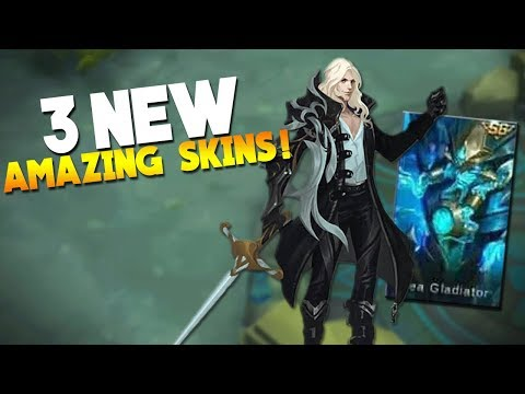 NEW Season 6 Skin + New Lancelot & Akai Skin Gameplay Mobile Legends