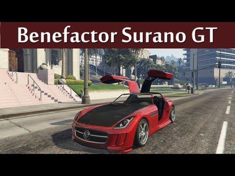 Benefactor Surano Customization