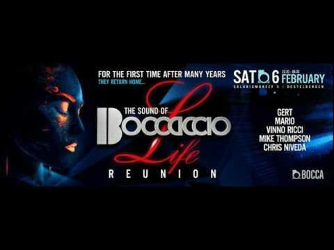 Boccaccio Life Reunion @ club BOCCA mixed by Chris Niveda