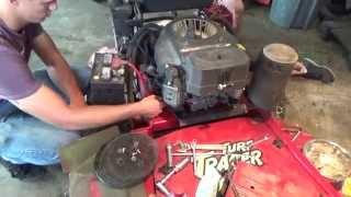 Kawasaki 4 Stroke Engine Rebuild. Piston Ring Repair , Head Gasket Replace