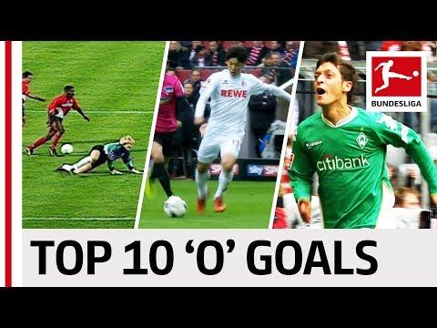 """Top 10 Goals - Players With """"O"""" - Özil, Osako & More"""