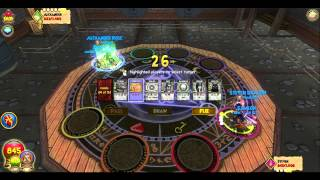Wizard101 PVP: 1v1 Steven Dragon ( Balance ) vs Alexander Rose ( Death )