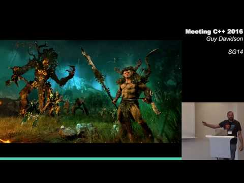 SG14 (the GameDev & low latency ISO C++ working group) - Guy Davidson - Meeting C++ 2016
