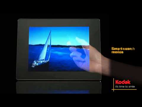 Kodak Easyshare P850 Digital Picture Frame Youtube