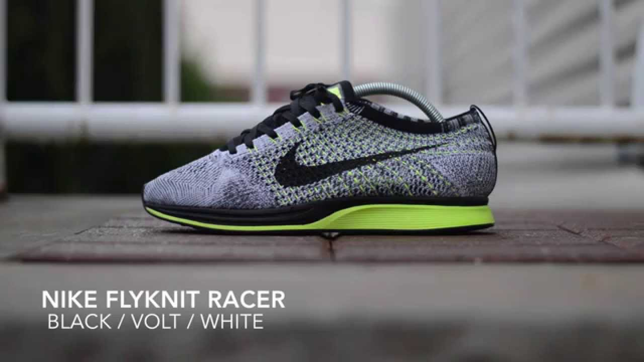 new product ac840 56b8c Nike Flyknit Racer