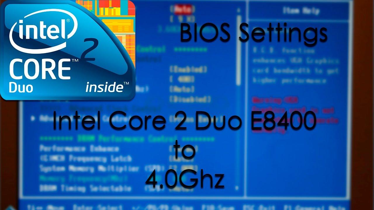 Intel Core 2 Duo Cpu E8400 Driver Download