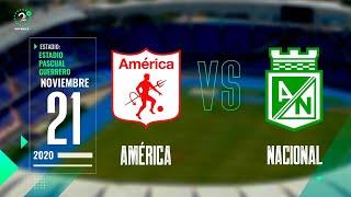 EN VIVO | #América Vs. Nacional #LigaBetplay