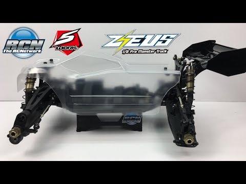 Sworkz Zeus 1/8th Monster Truck KIT - Build Update