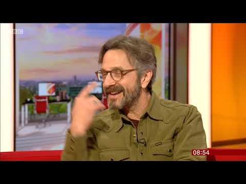 Marc Maron BBC Breakfast 2019