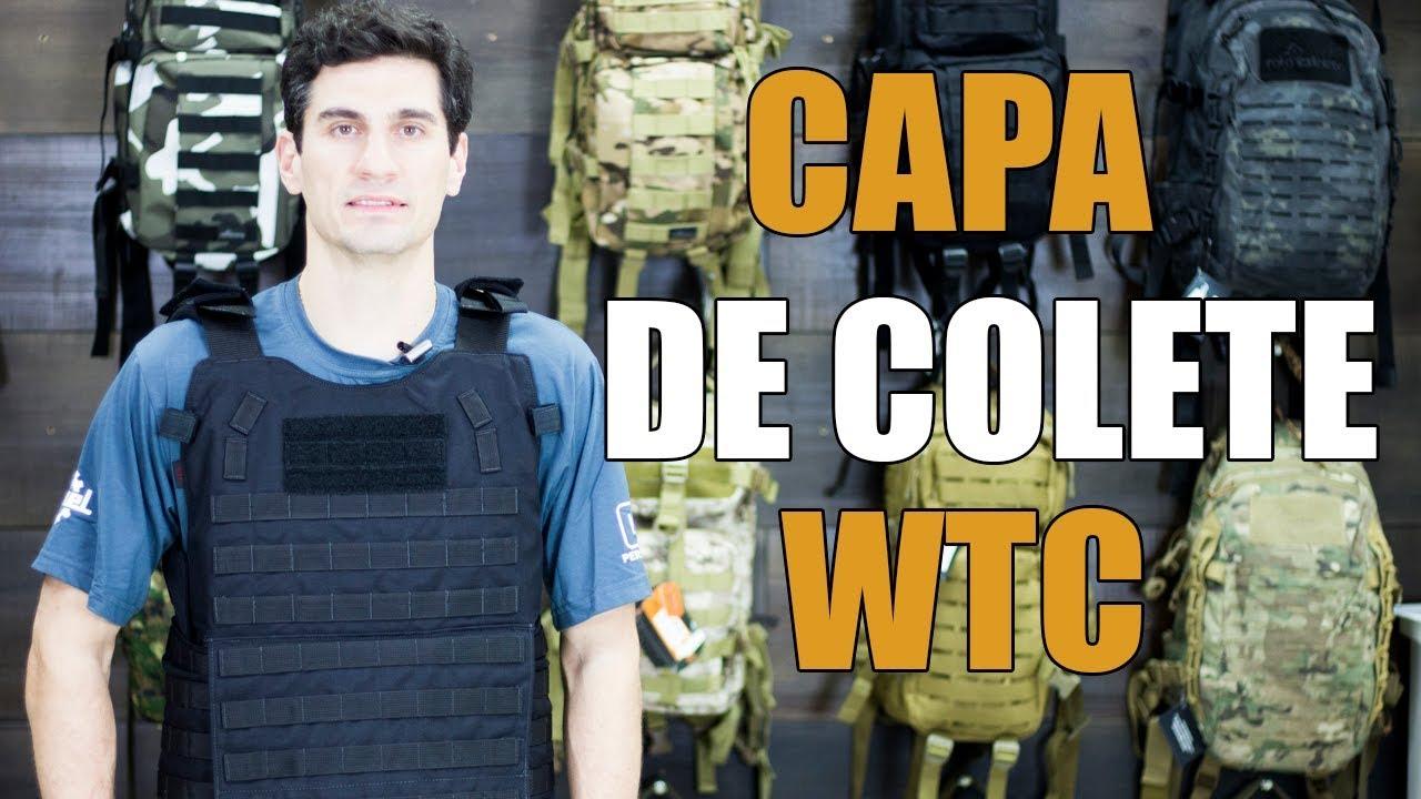 Capa de Colete Balístico Nível 3 WTC - Rota Extrema - YouTube 60474375e28cf