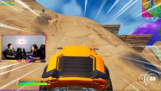 fortnite broke cars