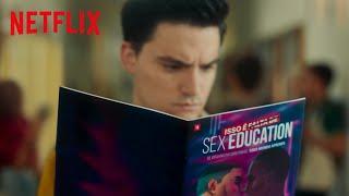 Felipe Neto invadiu Moordale pra distribuir umas HQs de Sex Education | Netflix Brasil