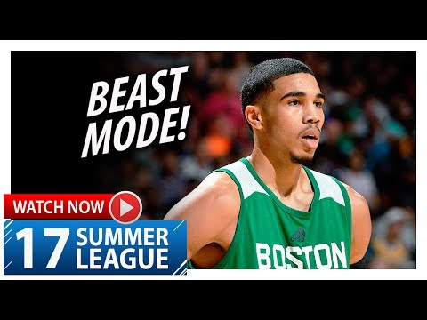 Jayson Tatum Full Highlights vs Lakers (2017.07.08) Summer League - 27 Pts, 11 Reb, SICK!