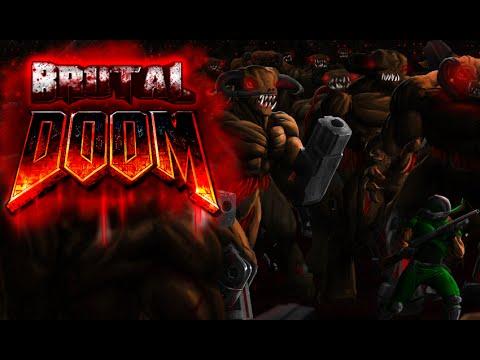 brutal doom v20 amp plutonia levels 13 youtube