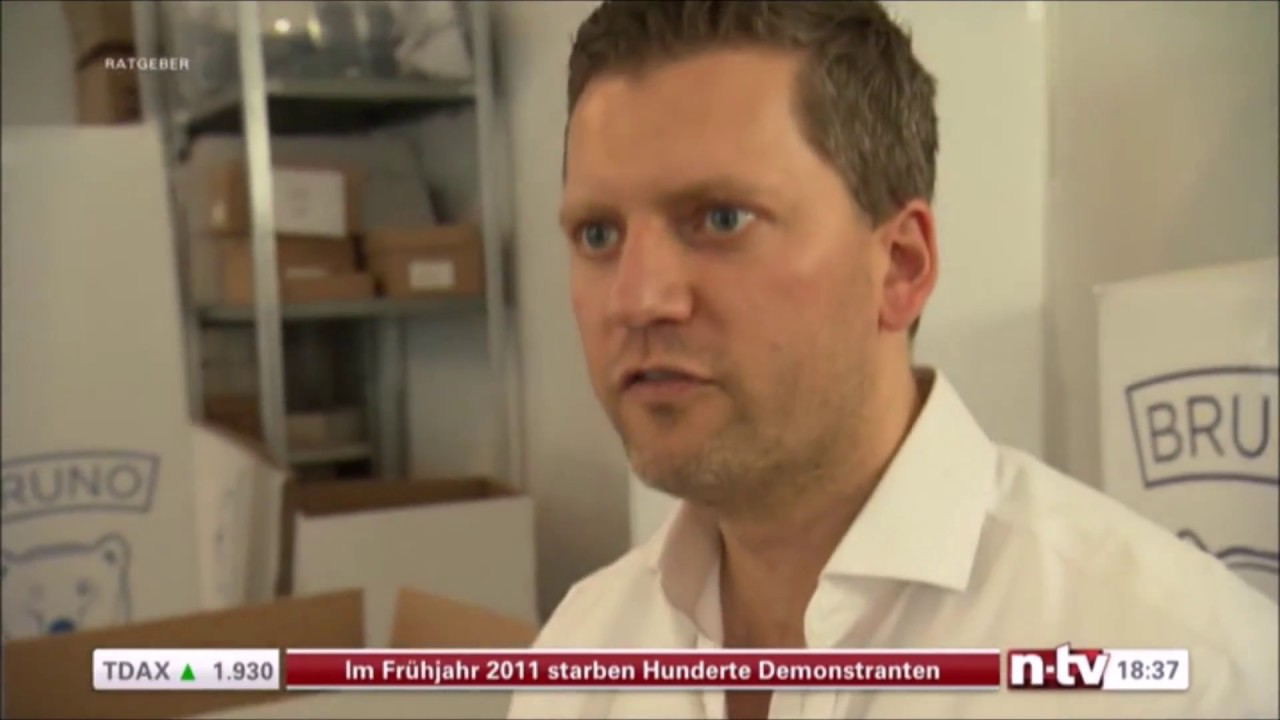 die bruno matratze im test bei n tv youtube. Black Bedroom Furniture Sets. Home Design Ideas