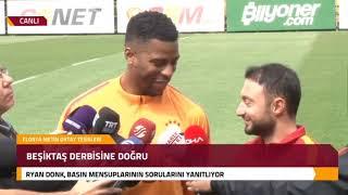 Ryan Donk'tan Beşiktaş Derbisi Öncesinde Açıklamalar