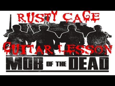 Rusty Cage, Guitar lesson