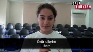 Easy Turkish - 20 most important phrases with Melisa