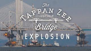 Tappan Zee Bridge Demolition Explosion in SLOW MOTION