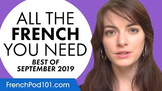 Your Monthly Dose of French - Best of September 2019