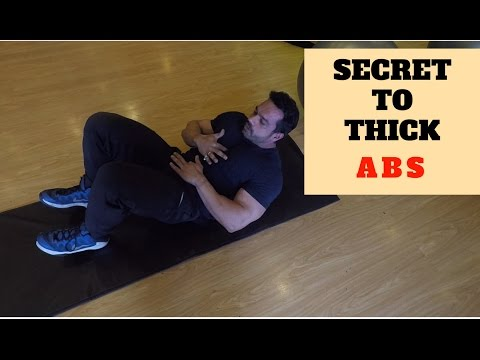 how to get thick abs