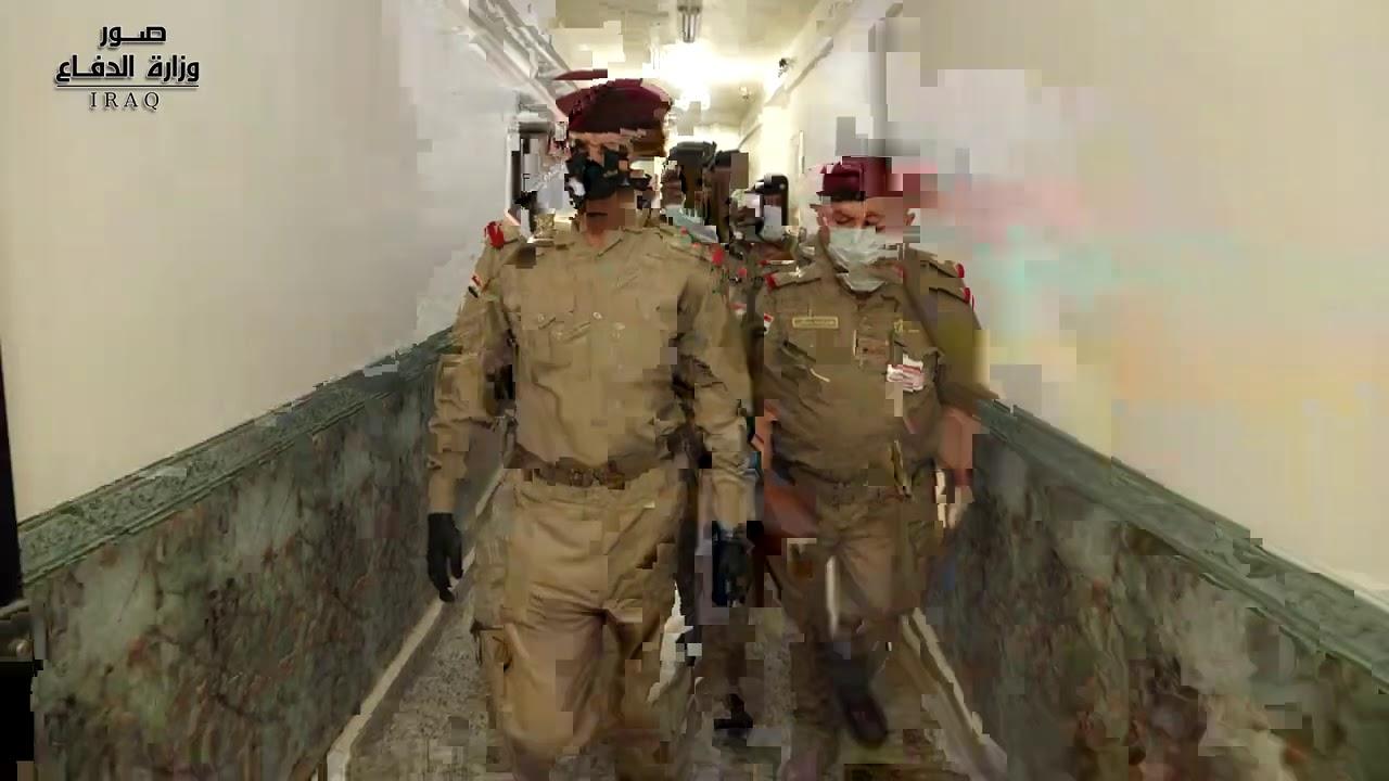 رئيس أركان الجيش يتفقد مديريتي الحسابات العسكرية والتدقيق المركزي