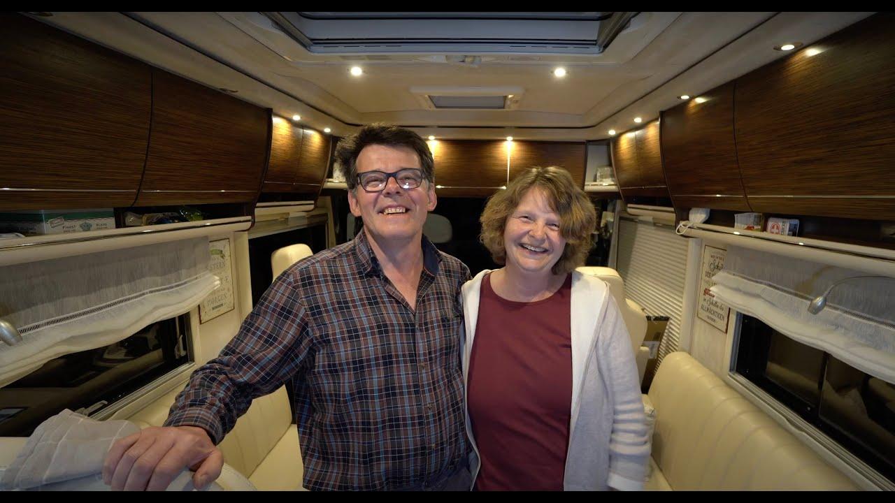 Markus und Karin leben nur noch im Concorde Charisma Wohnmobil. Haus verkauft und frei. Vanlife 2021