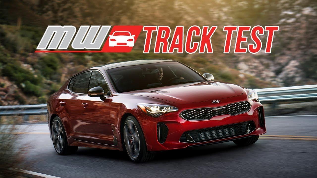 Circuito Kia 2018 : Kia stinger gt rwd track test youtube