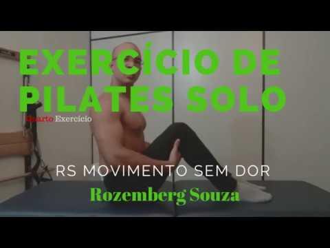 4° Exercício de Pilates Solo -