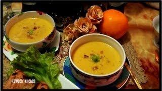 """pumpkin Corn Soup""."