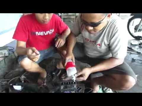 Cara Cas Baterai 9 Volt Pakai Aki Motor 12 Volt Funnydog Tv
