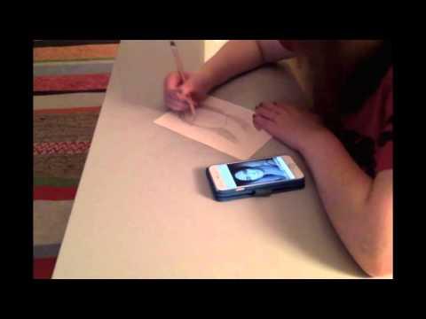 Sketching Emily Blunt