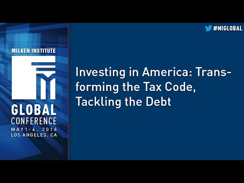 Investing in America: Transforming the Tax Code, Tackling the Debt