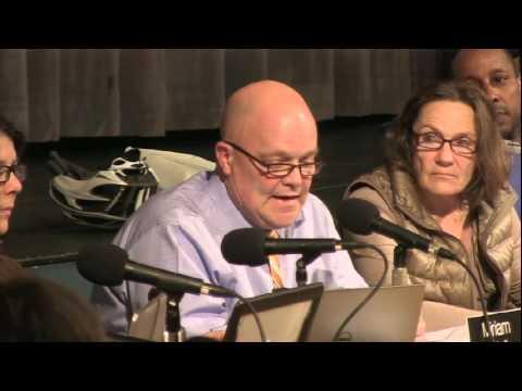 Burlington School Board Meeting: April 12, 2016
