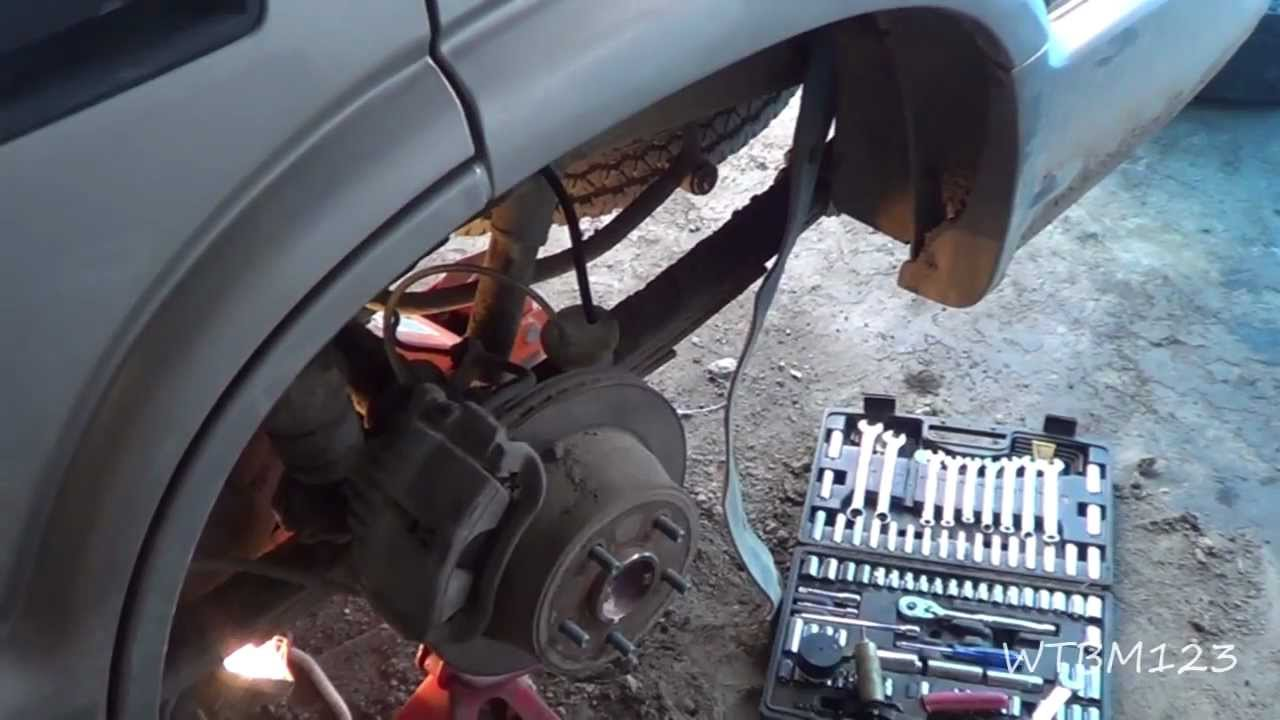 Replace Rear Brake Line, On a Blazer  YouTube