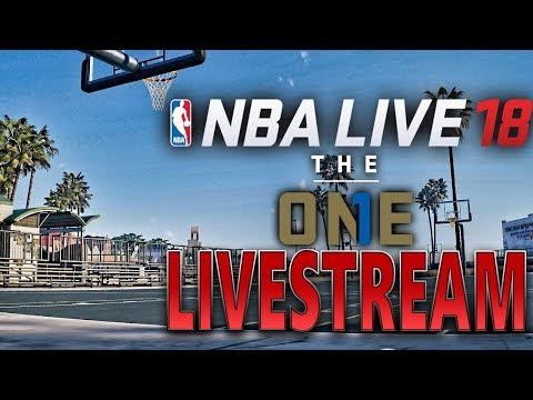FRIDAY NIGHT HOOPS! NBA LIVE 18 DOMINATING THE STREETS! SQUAD UP!