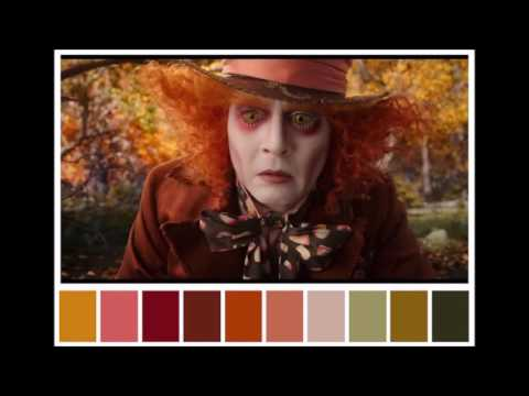 Paletas de color en cine