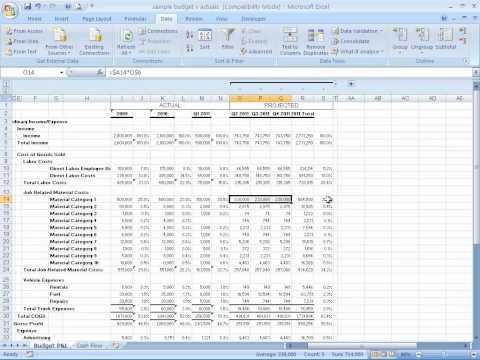 How to Build a Basic Financial Projection - Business Finance