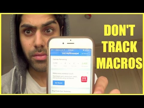 Why I Don't Track Macros Build Muscle WITHOUT Counting Calories