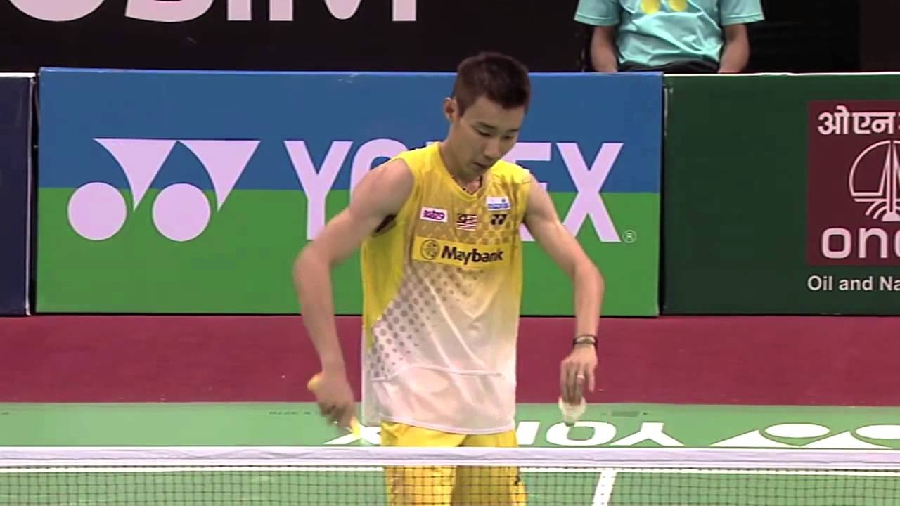 QF MS Highlight Lee Chong Wei vs Prannoy Haseena Sunil