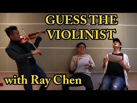 Imitating Famous Violinists