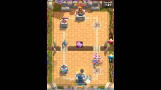 Funny Moment - Level 9 Vs Level 4 | HD | Clash Royale Indonesia