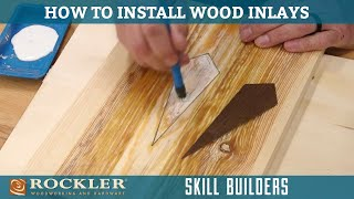 Installing a Simple Wood Inlay - Rockler Skill Builder